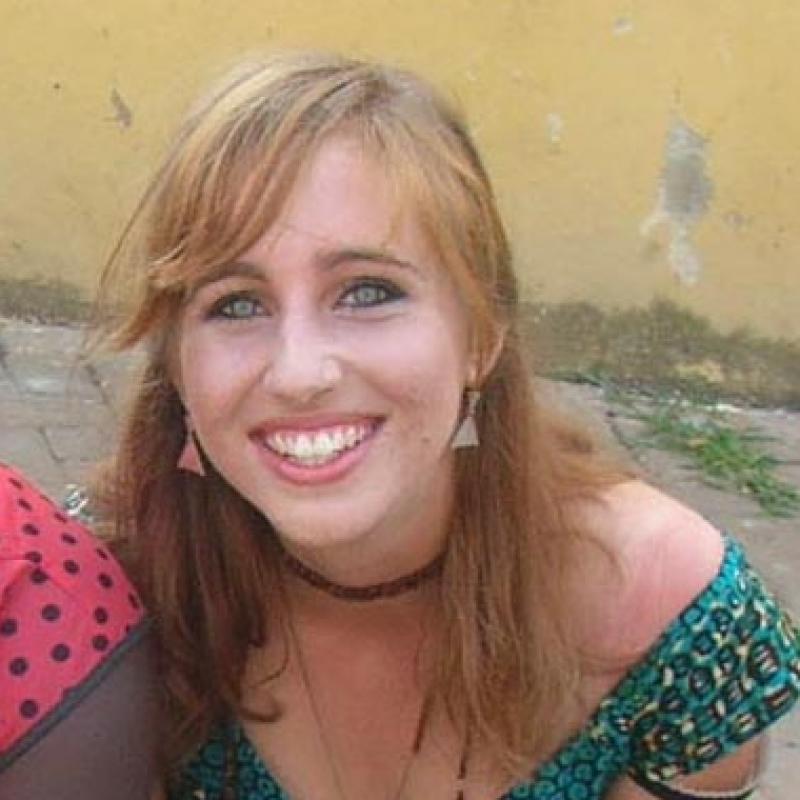 Elise B in Ghana